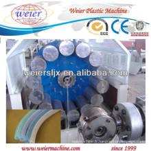 Renforcé par fibres de PVC tuyau ligne d'extrusion