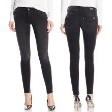 2016 femmes maigres denim porter coton stretch jeans