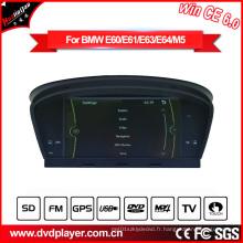 Hla8808 Auto GPS DVD pour BMW 5er E60 E61 Navigation Win Ce 6.0