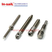 China Supplier Kundenspezifische OEM-CNC-Titan Bearbeitung Shenzhen Hersteller