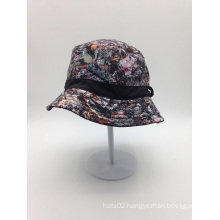 OEM Sublimation Printed Bucket Hat with Your Label Logo (ACEK0112)