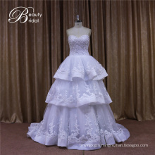 Sweetheart White Bridal Gown Wedding Dress