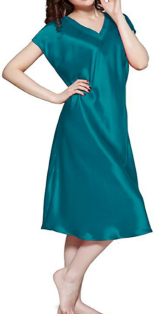 Dark Teal Nightgown Sleepwear