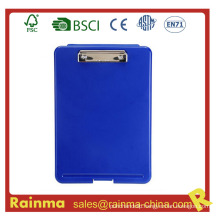 High Quality PS Material Plastic Storage Clipboard