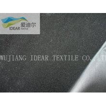 poliéster tejido flocado tafetán de tapicería