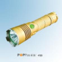 Golden CREE Xm-Lu2 Luz LED Tocha Lanterna (F20)
