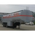 28T Three Axles Fuel Tank Semi Trailer
