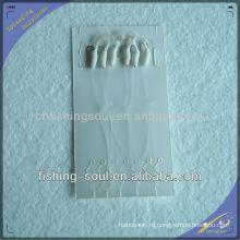 SBL005 Sabiki Soft Worm Iscas Plataformas Brilho Bead Soft Bait Lure