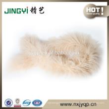 Hot Sale Beautiful Ningxia Tibet Curly Lamb Fur Scarf