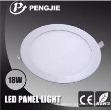De boa qualidade Luz de painel redonda do diodo emissor de luz para interno