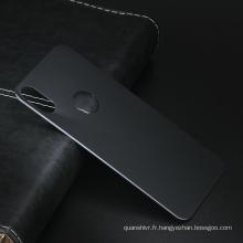 Date Fashional 3d courbé en verre trempé téléphone protecteur arrière couverture protecteur accessoires de téléphone portable couverture pour iphone X