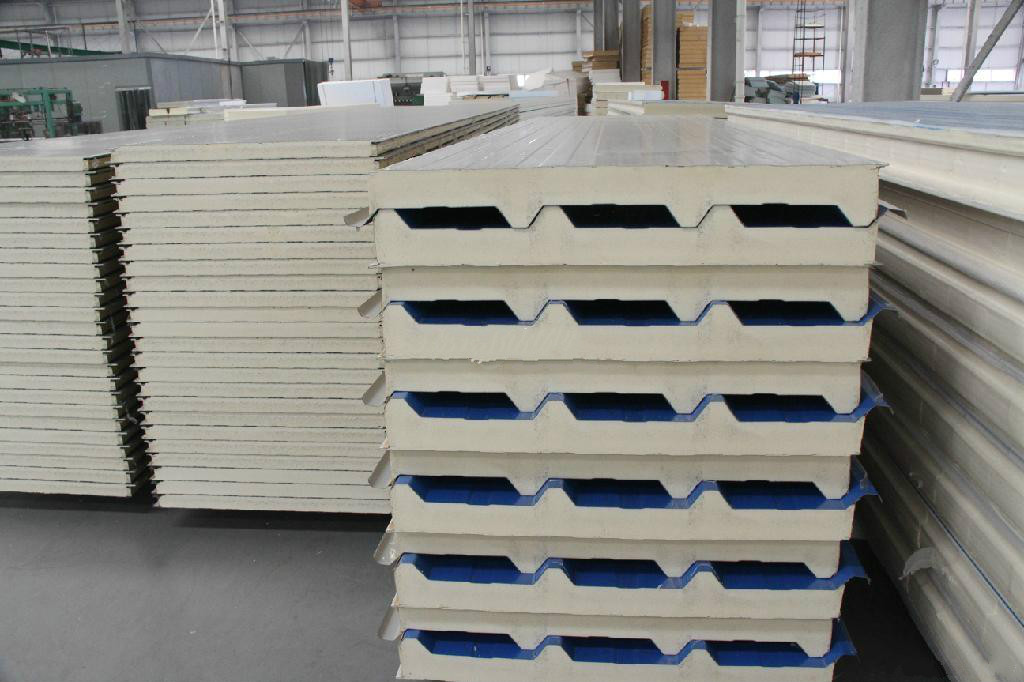 Factory Cheap Steel PU Sandwich Panel