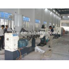 hdpe corrugated pipe making machine