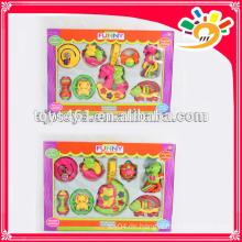 Neue Ankunfts-Aufklärer-Reihen-Schaukel-Bell-Spielzeug, reizende Plastikschaukel-Bell-Satz-Spielwaren (8pieces ein Satz)