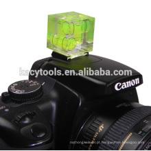 Nível de bolha da câmera