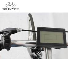 2017 bicicleta elétrica popular eBicycle display LCD com cabo à prova d 'água / normal