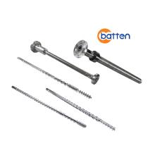 Bimetallic extruder screw barrel for PE film machine
