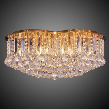 Applique luminosa in cristallo da soffitto