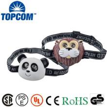 Promoção de vendas Animal em forma de lâmpada LED Head Light