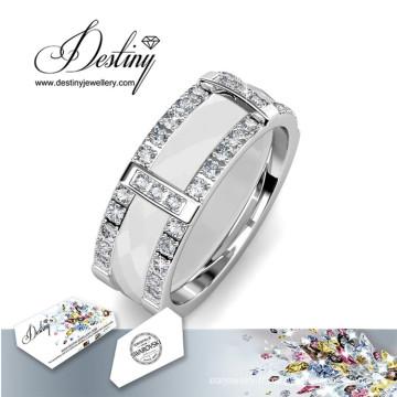 Destin bijoux cristaux de Swarovski fusion anneau
