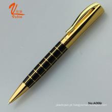 High-End Thick Promotional Business caneta caneta esferográfica de ouro