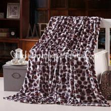 Super Soft 100%Polyester Printed Flannel Fleece Blanket