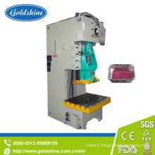 Aluminium Foil Lunch Box faisant la Machine