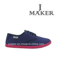 2016 Moda Lona Sapatos Casuais F044-L