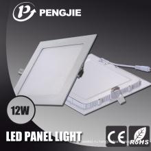 Квадратный свет панели с CE (ПФ>0.9)