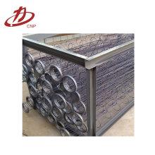 Soporte de filtro de Colelctor de polvo industrial / jaula de filtro