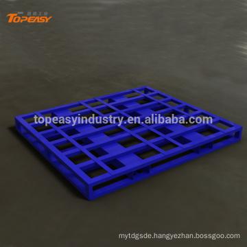 Powder coated single faced steel stack pallet industrial pallet