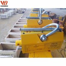 imanes de elevación de la placa de acero levantador magnético permanente manual