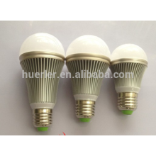 energy saving 7W 7leds 2 years warranty aluminum e26/b22/e27 led light bulb