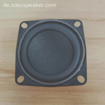 52mm Papierkegel 4 Ohm 10W Breitbandlautsprecher