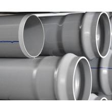Ligne d'extrusion de tuyau de drainage de l'eau de PVC Lsz92 / 188