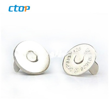 Garments accessories in guangzhou eco-friendly custom magnetic snap for bags metal button leather buttons buttons for clothes