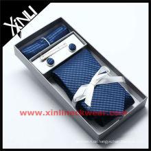 2013 neue Krawatte Manschettenknopf Hanky Set