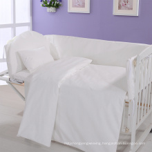 New Collection Bed Modern Style Bed Plain White Hotel/Home Bedding Linen (WS-2016228)