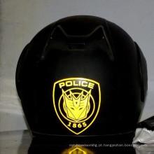 brilham no escuro adesivo reflexivo para capacete de segurança