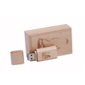 3.0 Disco Flash USB Bamboo de Madeira