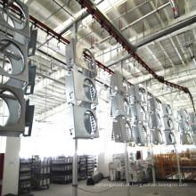 Pode personalizado máquina de pulverização para industrial mtal