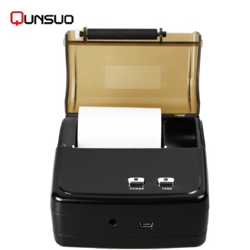 2 Inch Bluetooth Mobile Thermal Printer Portabel