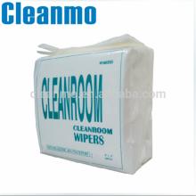 Chiffons non-tissés réutilisables de Polycellulose / Polycellulose de Spunlace 55% de cellulose et de polyester de salle blanche de% de% 0609