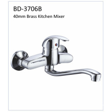 Bd3706b 40mm Brass Single Lever Kitchen Faucet