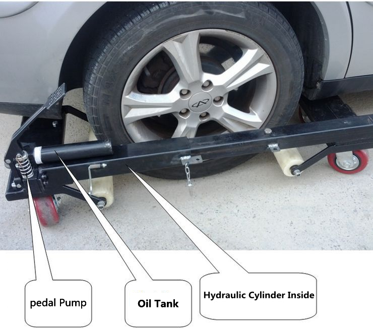 Hydraulic Car Dolly