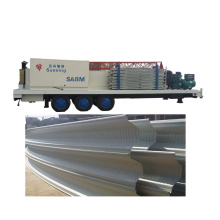 SABM SX-1000-680 hydraulic quick assembly roofing metal Swimming Pools forming and curving machine roof steel making machine