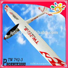 EPO rc Modell Flugzeug Ausgezeichnete Flying Experience Phoenix 2000 EPO TW 742-3 RC Segelflugzeug Lanyu Hobby Rc Flugzeug