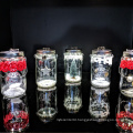 Solar Mason Jar Lights, 20 Led Water-Proof Outdoor Fairy Lights,Hanging Lights for Garden