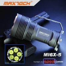 Maximoch MI6X-5 5 * Cree XML T6 Manejar LED Alta linterna