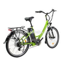 26 inch 700C wheel size lady women electric city bike bicycle